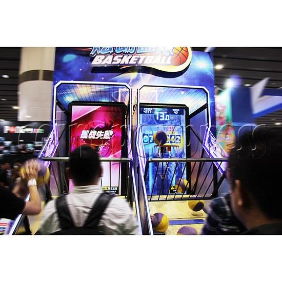 Storm Shot Basketball Arcade Ticket Redemption Game Machine- play view 3