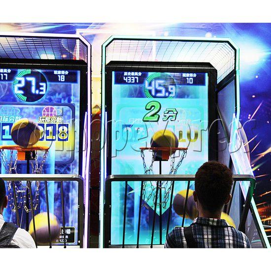 Storm Shot Basketball Arcade Ticket Redemption Game Machine- play view 2
