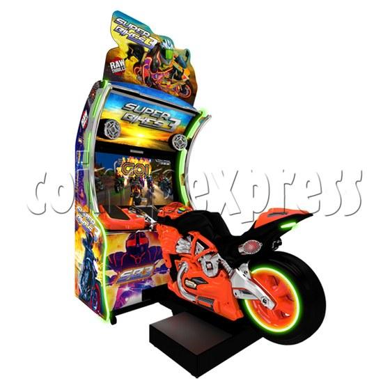 Super Bikes 3 Motorcycle Racing Arcade Game Machine- orange color2