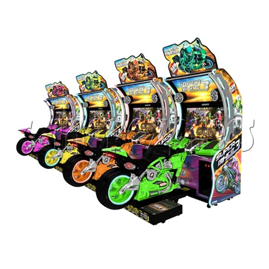 Super Bikes 3 Motorcycle Racing Arcade Game Machine- 4 colors for option