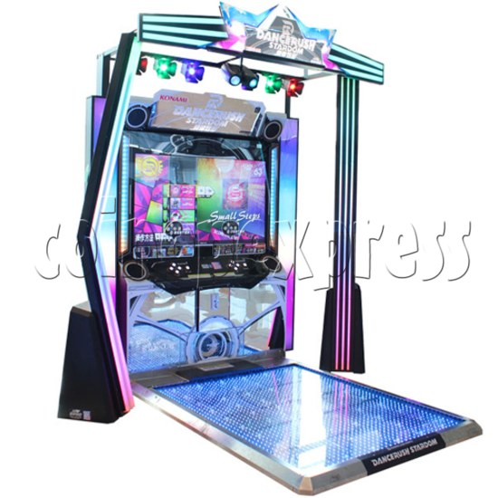 DanceRush Stardom Video Dancing Machine - Single player machine- side view