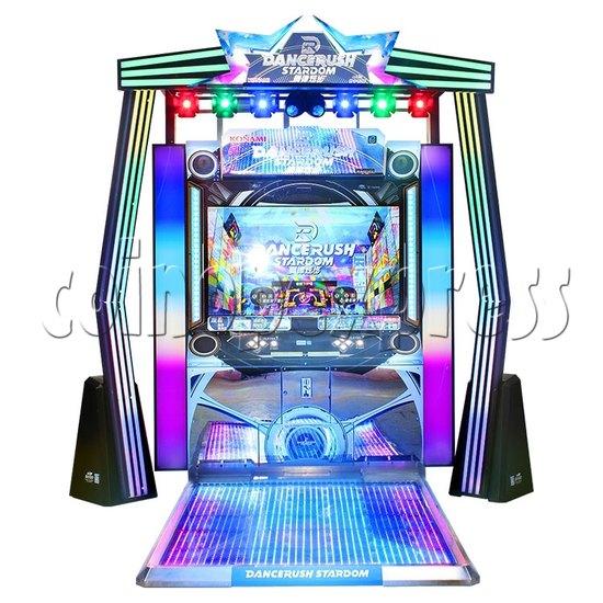 DanceRush Stardom Video Dancing Machine - Single player machine- front view