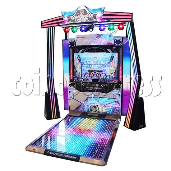 DanceRush Stardom Video Dancing Machine - Single player machine- right view