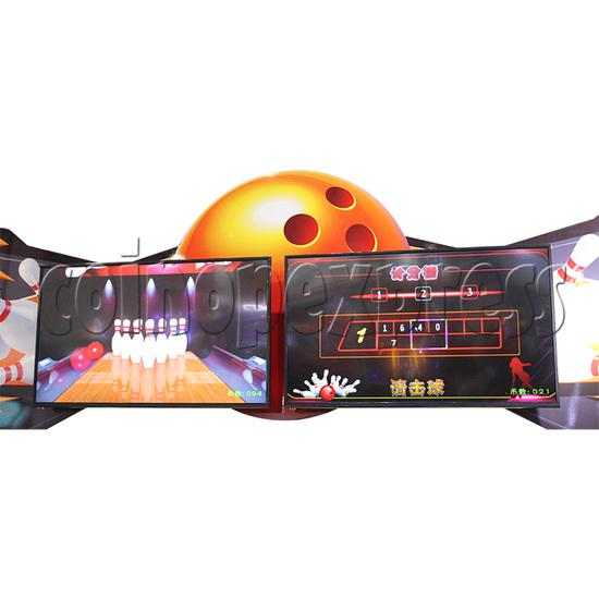 Speed Bowling Arcade Machine 13M - screen display