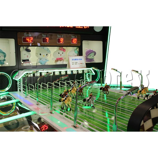 Multiplayer Horse Racing Arcade Game machine 10 players - playfield