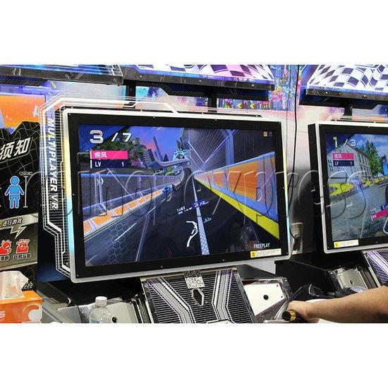 Ultra Moto VR Arcade Driving Machine Twin - screen display 1