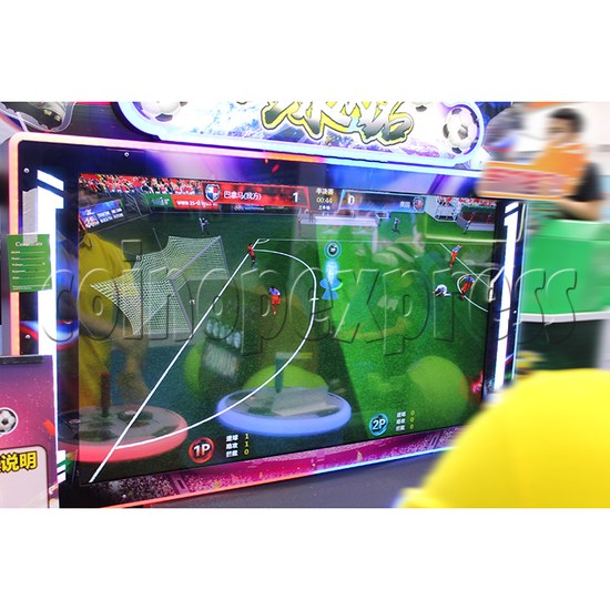 Fantasy Soccer Sport Arcade Machine 2 Players - screen display 1