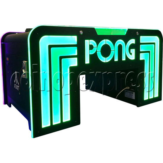 Atari PONG Cocktail Table Ticket Redemption Arcade Machine - side view 2