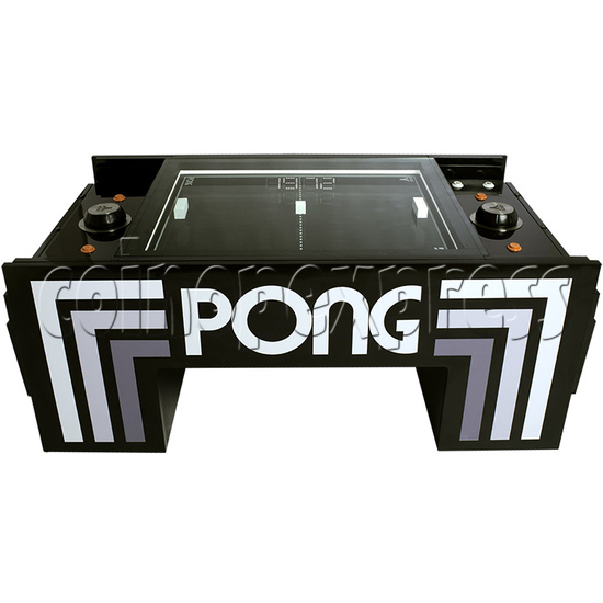 Atari PONG Coffee Table Arcade Machine - side view 1