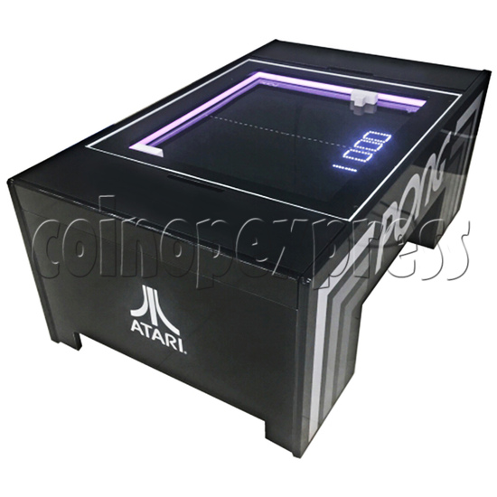 Atari PONG Coffee Table Arcade Machine - right view