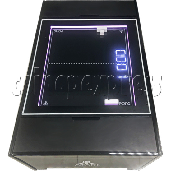 Atari PONG Coffee Table Arcade Machine - top view