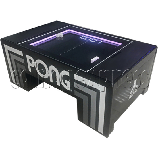 Atari PONG Coffee Table Arcade Machine - left view 2