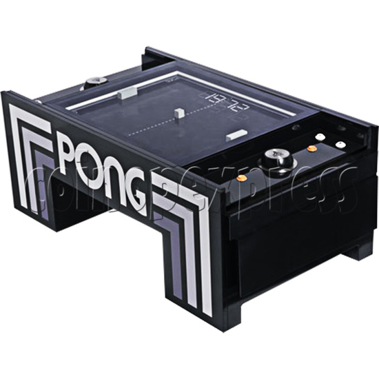 Atari PONG Coffee Table Arcade Machine - left view 3