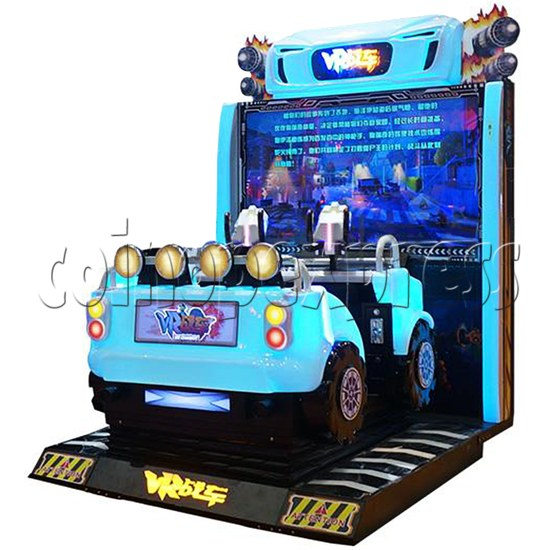 VR Chariot Driving Arcade Machine - right view