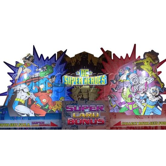 DC Super Heroes 2 Player Arcade Game Machine - header