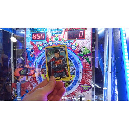 DC Super Heroes 2 Player Arcade Game Machine - game card 2