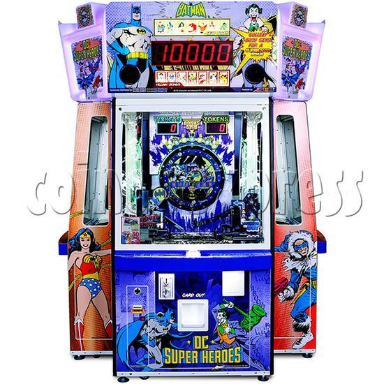 DC Super Heroes 4 Player Arcade Game Machine - batman side
