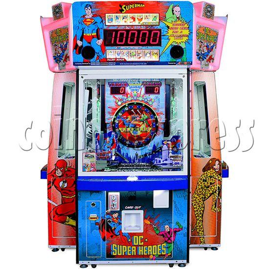 DC Super Heroes 4 Player Arcade Game Machine - superman side