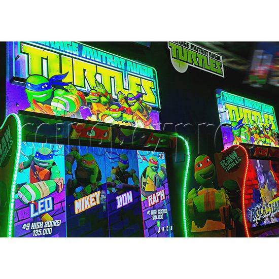 Teenage Mutant Ninja Turtles Arcade Machine 4 Player - screen display 1