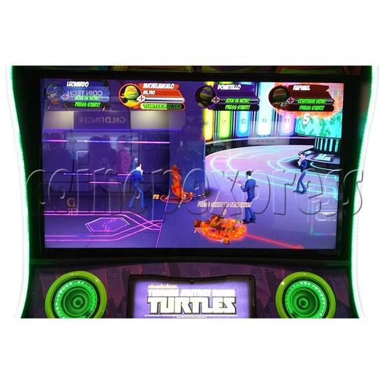 Teenage Mutant Ninja Turtles Arcade Machine 4 Player - screen display 2