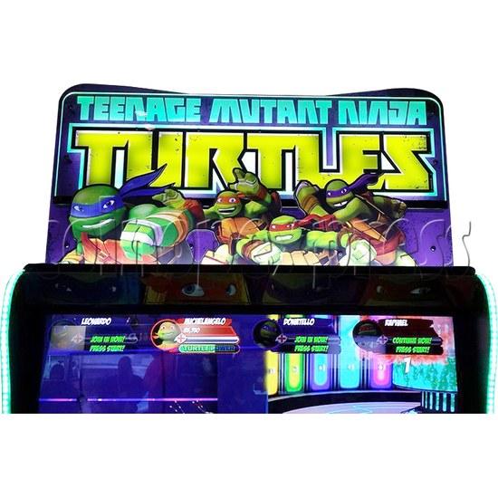 Teenage Mutant Ninja Turtles Arcade Machine 4 Player - header