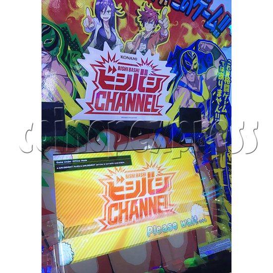 Bishi Bashi Channel Arcade Machine - screen