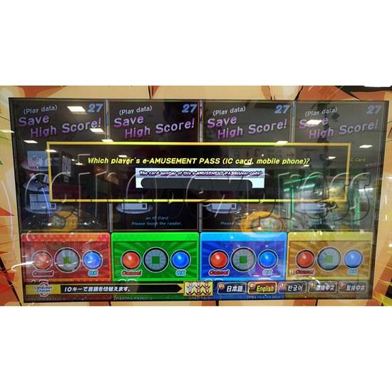 Bishi Bashi Channel Arcade Machine - screen display 1