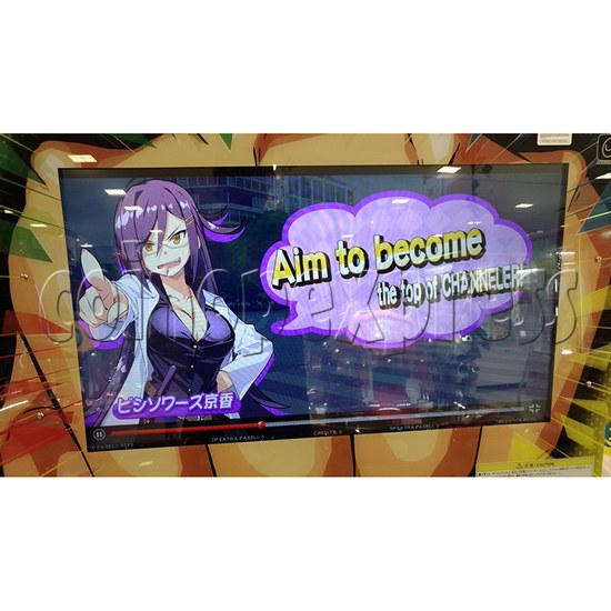 Bishi Bashi Channel Arcade Machine - screen display 2