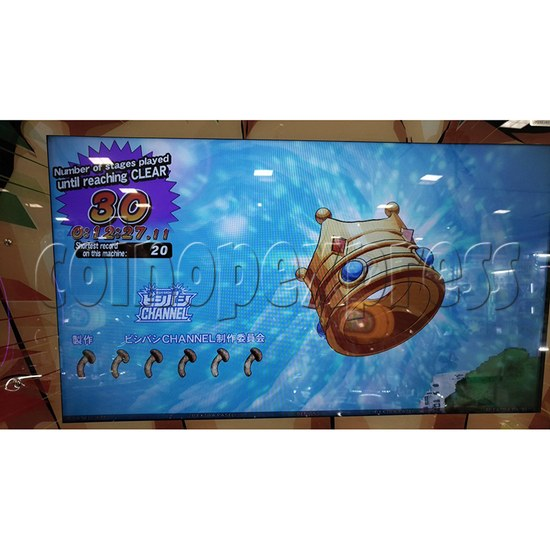 Bishi Bashi Channel Arcade Machine - screen display 5