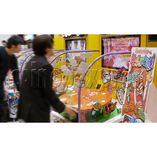 Cho Chabudai Gaeshi Arcade Game - play view