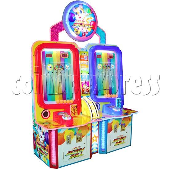 Crazy Rush Ball Ticket Redemption Arcade Machine - left view