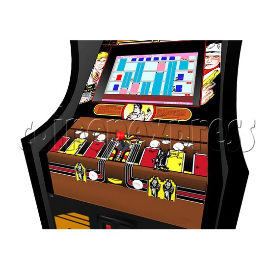 Elevator Action Twin Arcade Machine - playfield