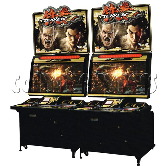Tekken 7: Fated Retribution Arcade Machine Twin - angle view