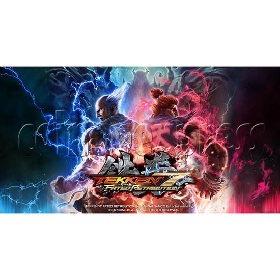 Tekken 7: Fated Retribution Arcade Machine Twin - catalogue