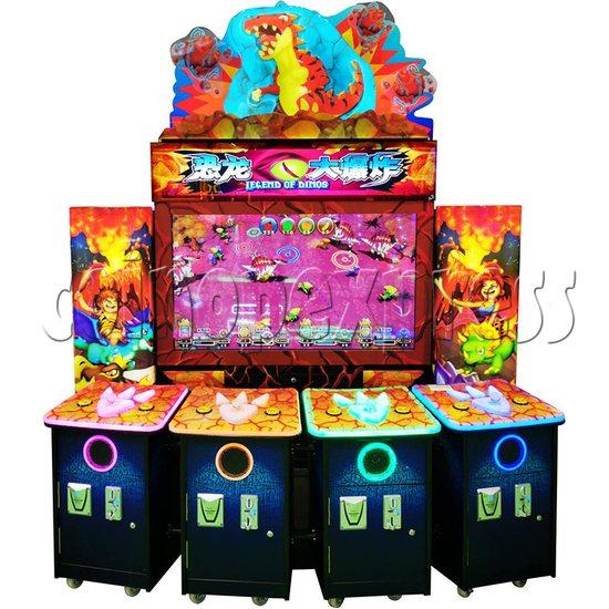 Legend Of Dinosaurs 2 Ticket Redemption Arcade Machine - front view