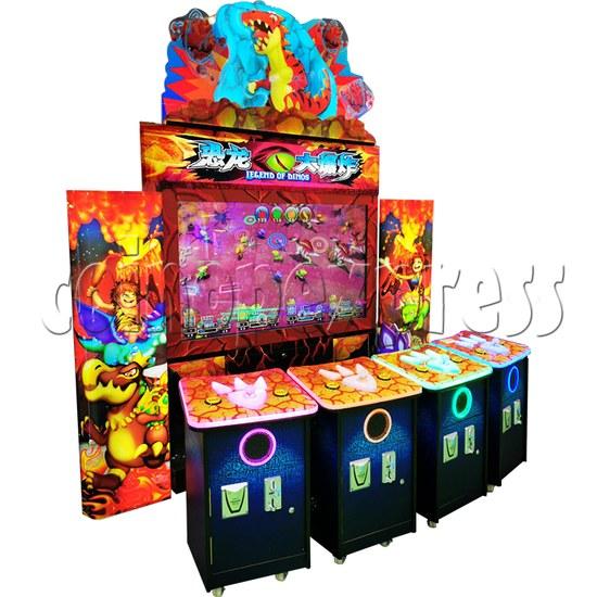 Legend Of Dinosaurs 2 Ticket Redemption Arcade Machine - left view