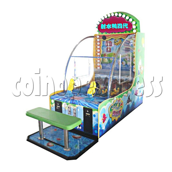 Chase Duck IV Water Shooter Ticket Redemption Machine with Chair - right view