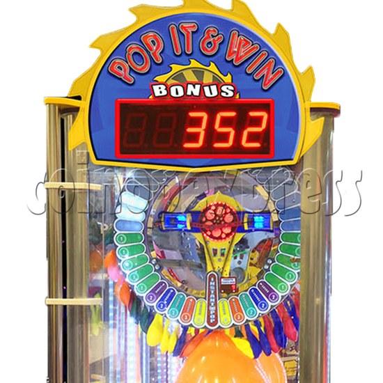 Pop It And Win Ticket Redemption Arcade Machine - header
