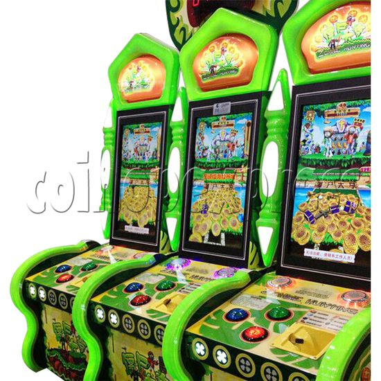 Zombie Hunting Ticket Redemption Arcade Machine - side view