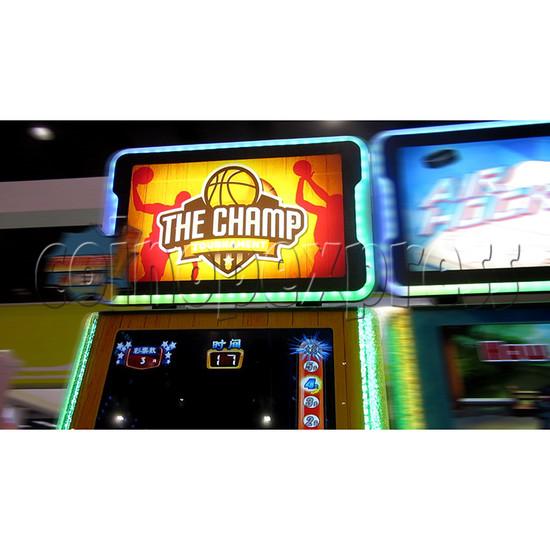 The Champ Ticket Redemption Arcade Machine - header