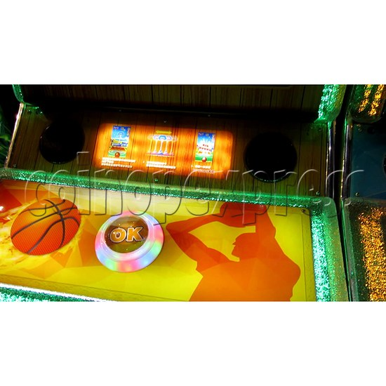 The Champ Ticket Redemption Arcade Machine - control panel