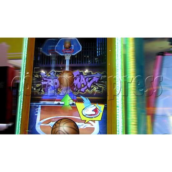 The Champ Ticket Redemption Arcade Machine - game start