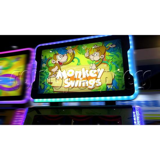 Monkey Swings Ticket Redemption Arcade Machine - header