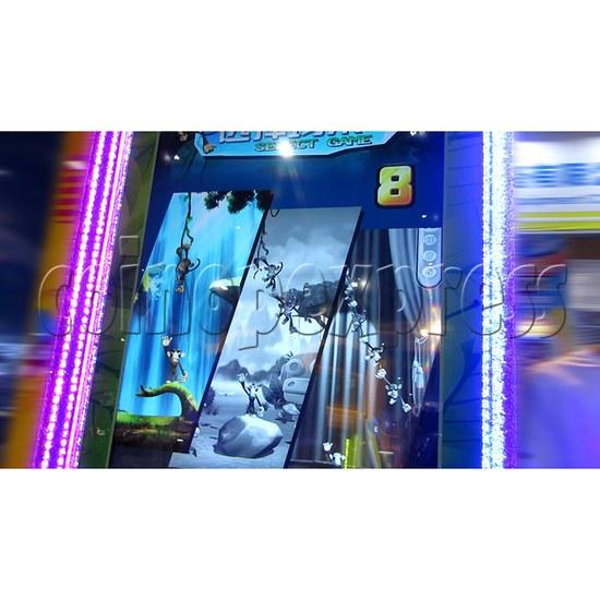 Monkey Swings Ticket Redemption Arcade Machine - game scenes