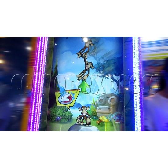 Monkey Swings Ticket Redemption Arcade Machine - game start
