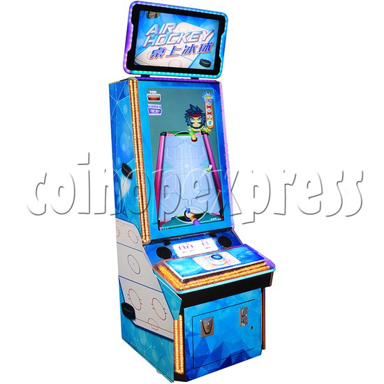 Air Hockey Ticket Redemption Arcade Machine - left view