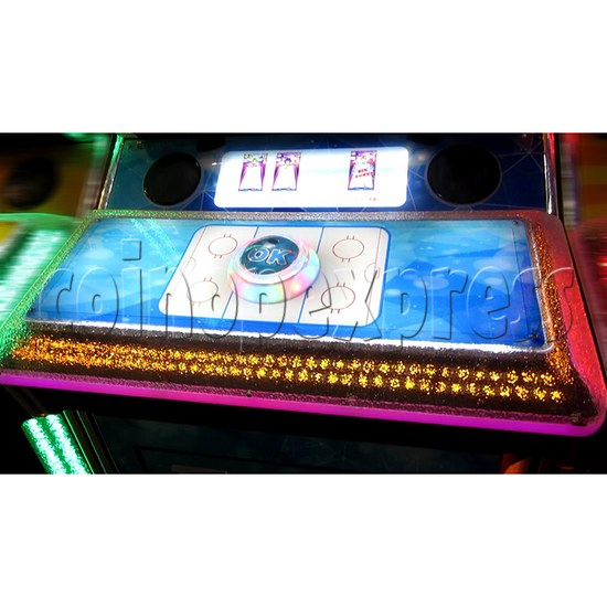 Air Hockey Ticket Redemption Arcade Machine - control panel