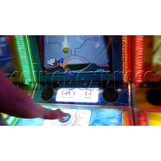 Air Hockey Ticket Redemption Arcade Machine - play view 1