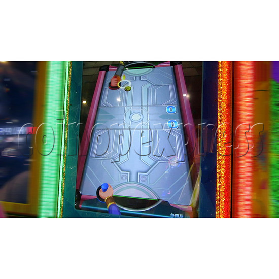 Air Hockey Ticket Redemption Arcade Machine - play view 2