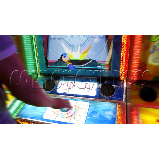 Air Hockey Ticket Redemption Arcade Machine - play view 3